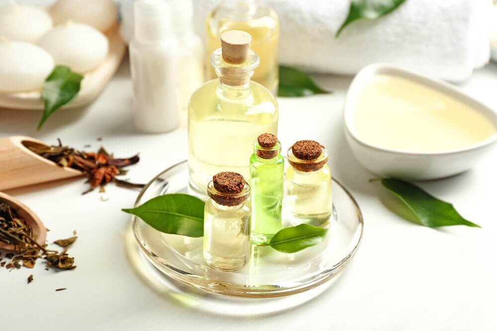 Treat irritation after shaving with tree tea oil