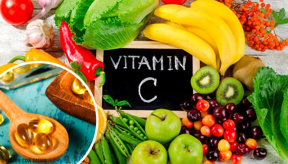 Eat foods rich in vitamin c