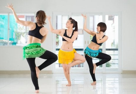 Belly dancing is a good exercise for a trimmer waist.