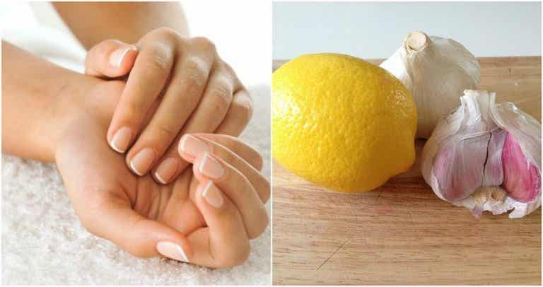 How to Strengthen Your Nails with Garlic and Lemon