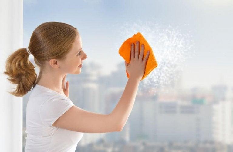6 Tricks for Clean Windows