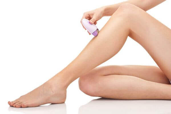 Electric hair removal machine