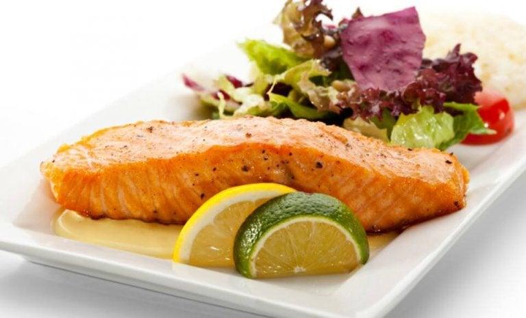 Delicious Salmon in Lemon Sauce