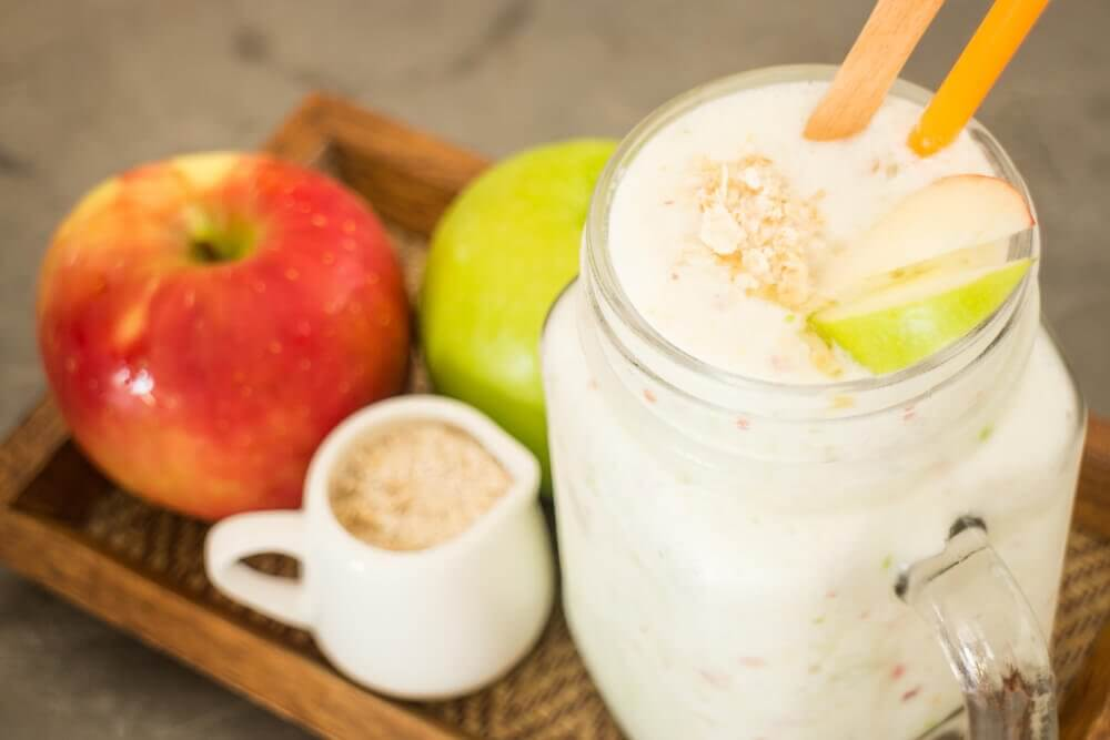 Apple and oats