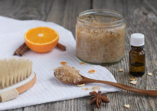 exfoliants made with brown sugar