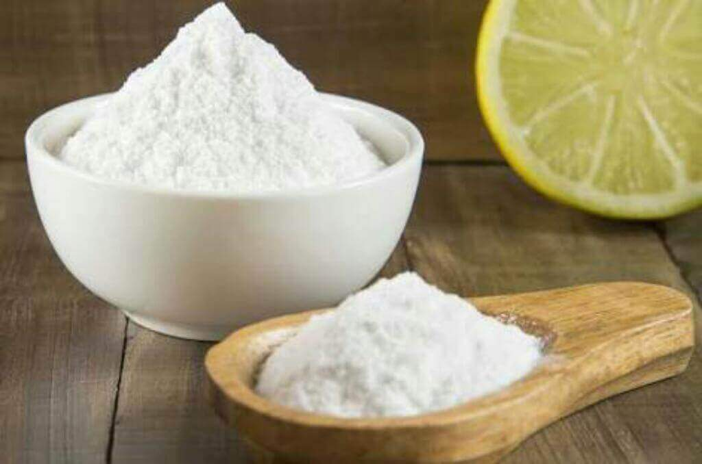Baking soda and lemon juice