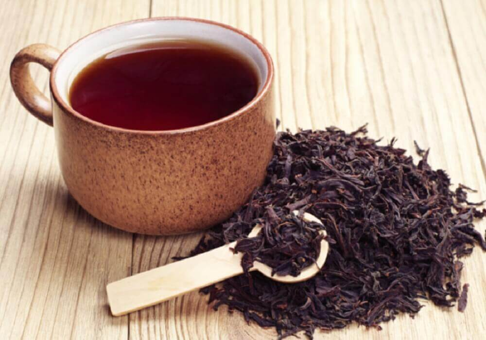 Use black tea