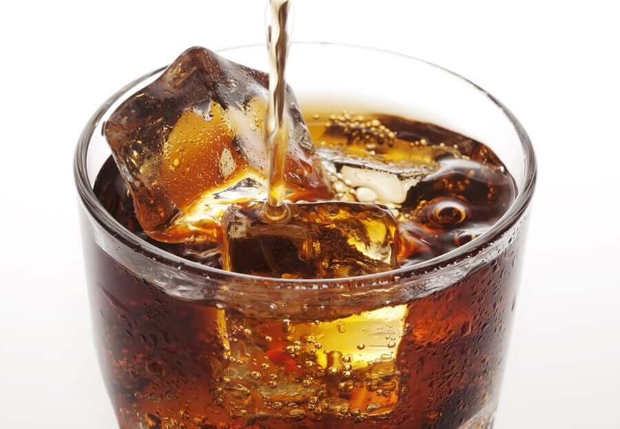 A class of coke.