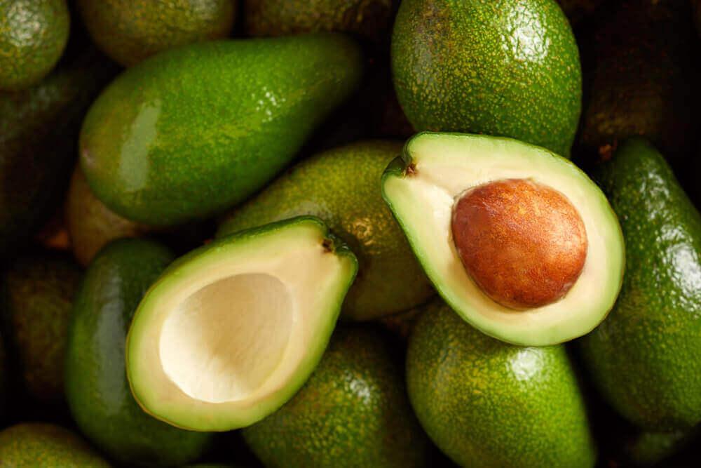 Fresh avocado.