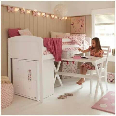 En piges værelse