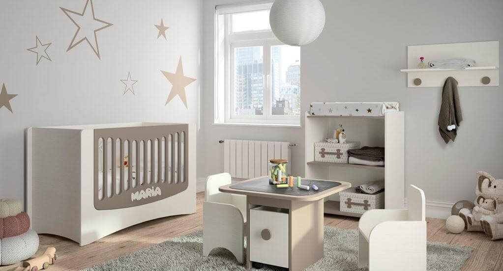 baby bedroom with stars