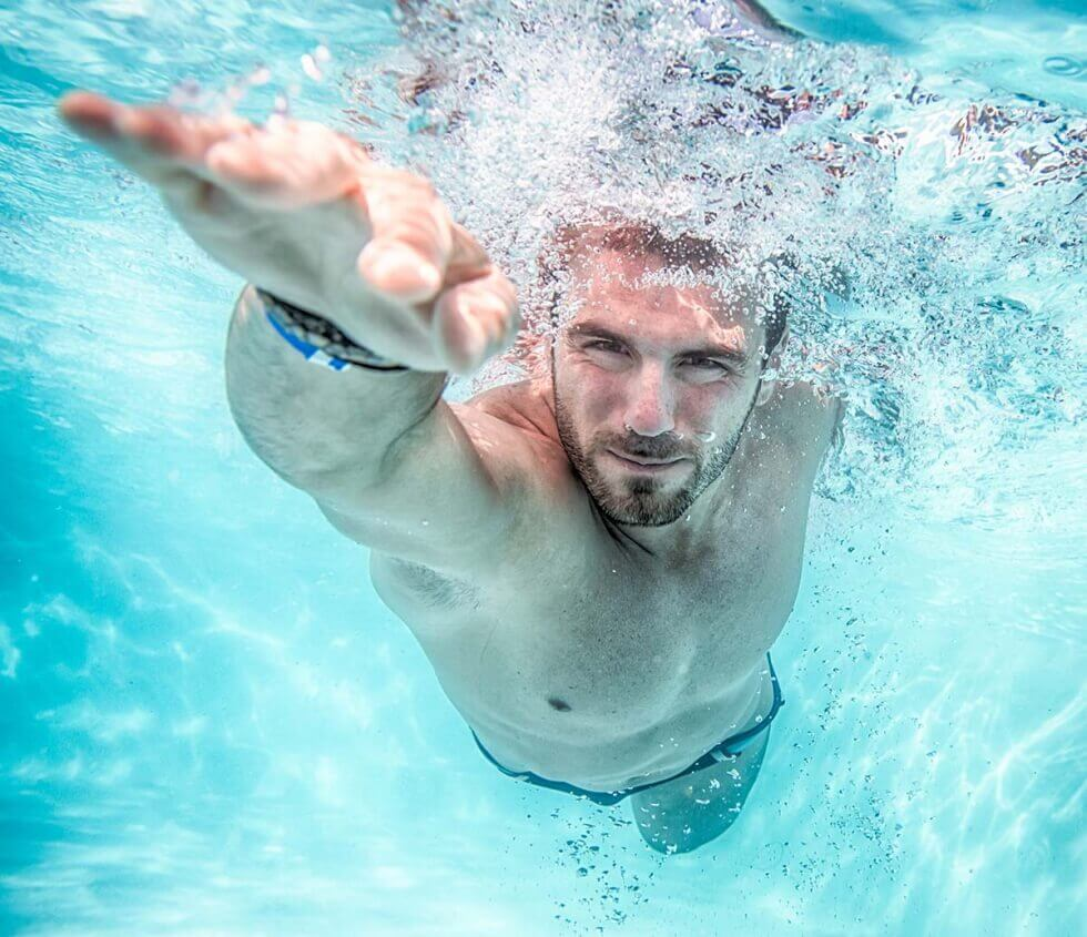 Swimming is cardio.