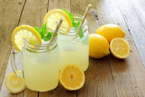 The nutritional value of lemons