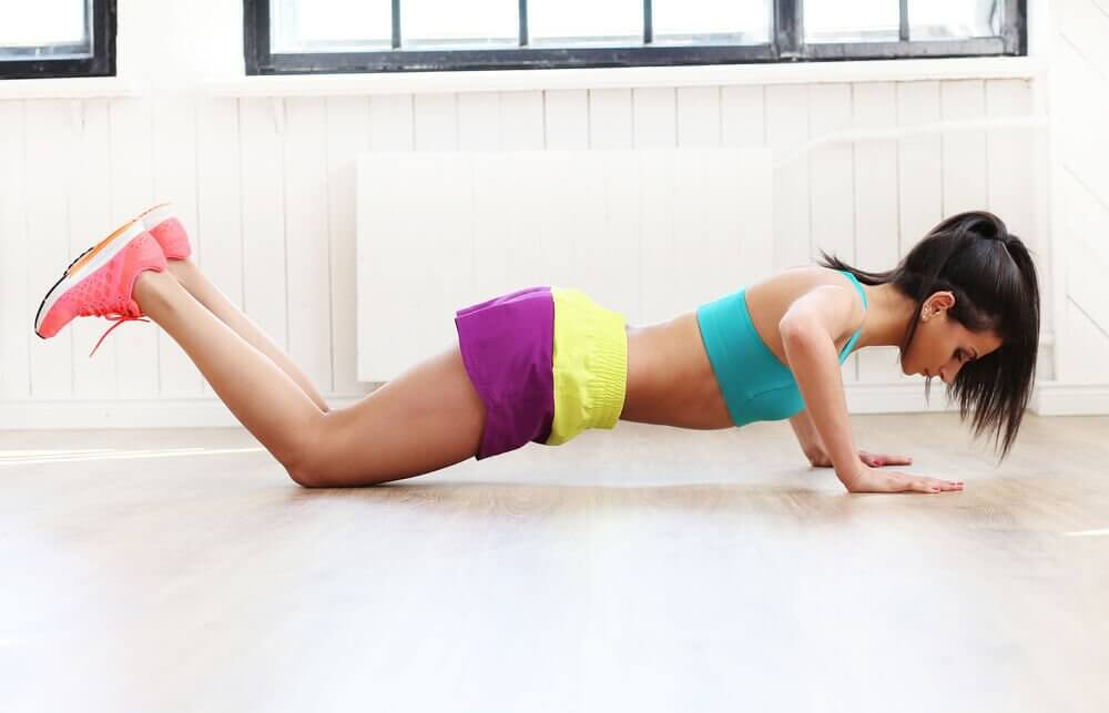 Knee push-ups