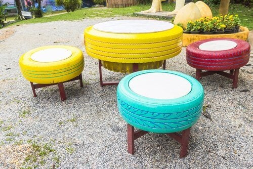 8 Ways to Use Old Tires