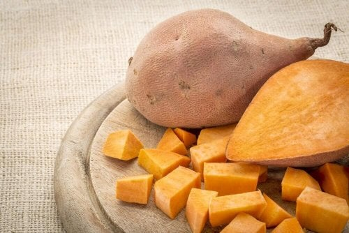 Sweet potatoes are full of antioxidants.