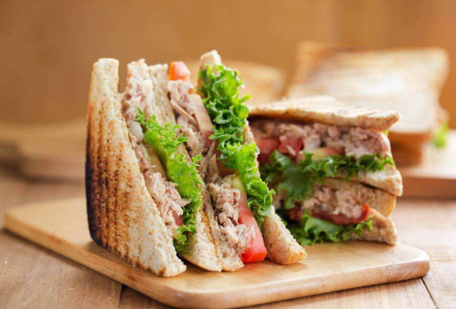 Toasted Tuna Sandwhich