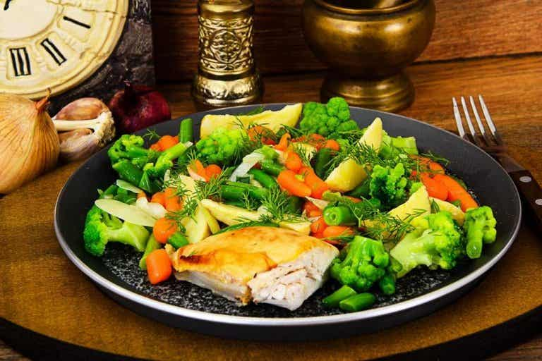 4 Mashed Potatoes and Steamed Vegetables Recipes