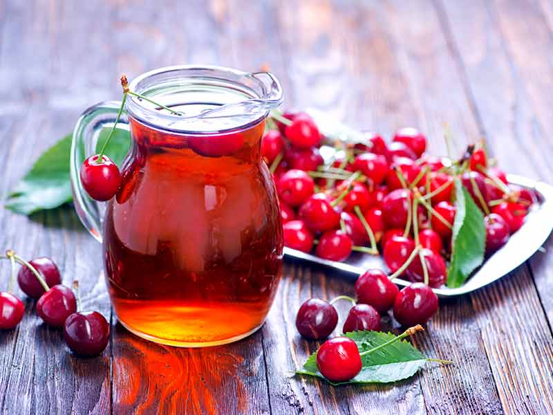 Cherries juice