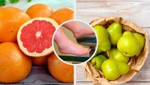 Fruits to combat fluid retention