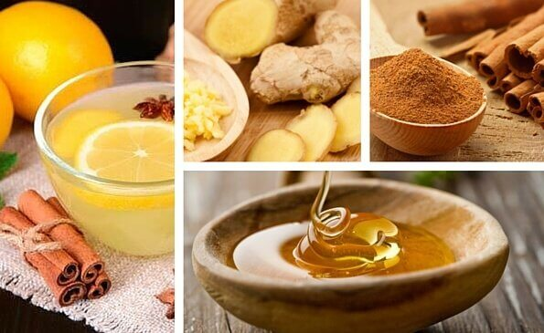 Cinnamon and Ginger Drink to Get Rid of Coughs