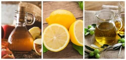 Lemon-Olive Oil-Apple Cider Vinegar Remedies for Kidney Stones