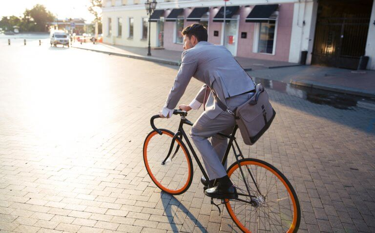 Biking to Work Reduces Work Stress