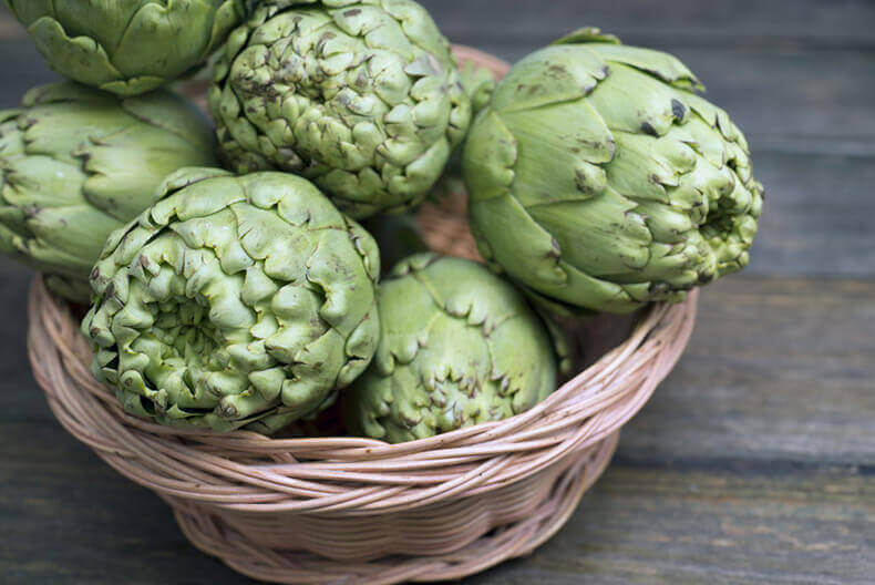 Artichoke recipes.
