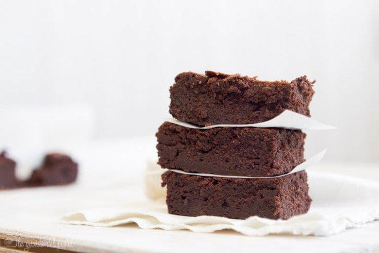 Sugar-Free Avocado Brownies