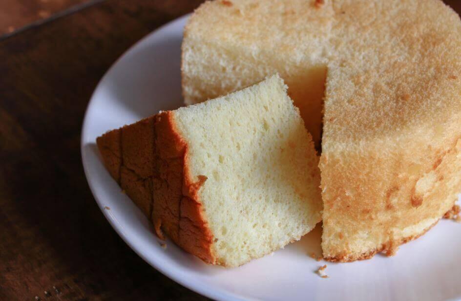 Zachte cake voor tres leches taart