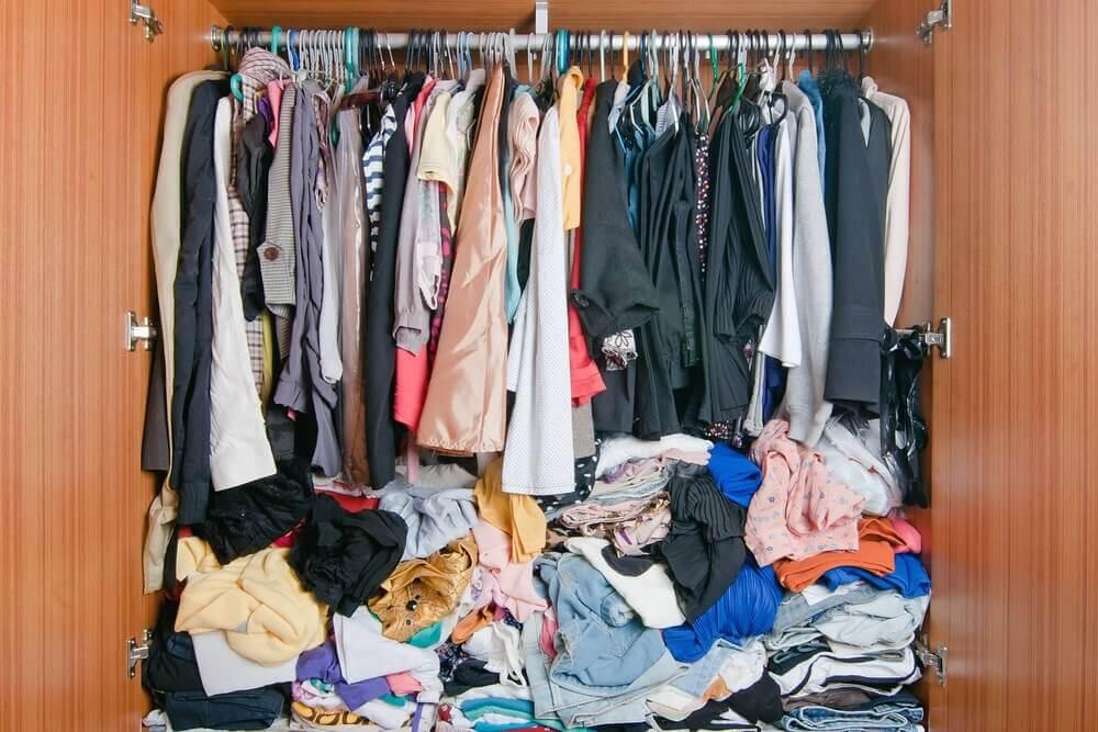 옷장이 부족하다면? 옷을 정리하는 아이디어