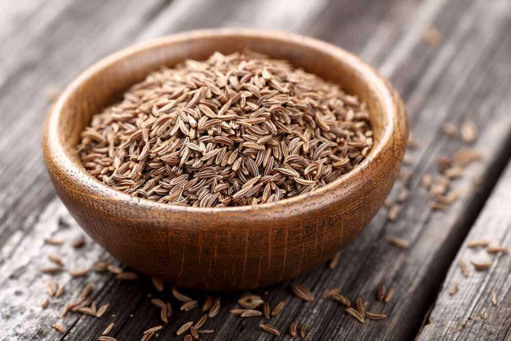 Cumin seeds to keep you from vomiting.