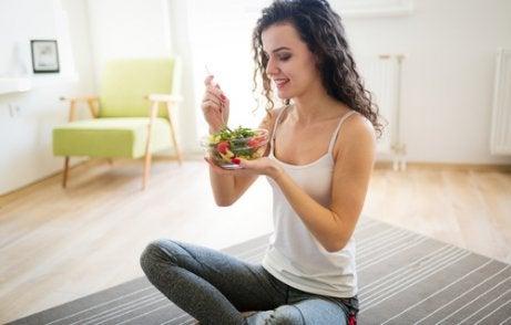 Een gezond dieet voor een plattere buik