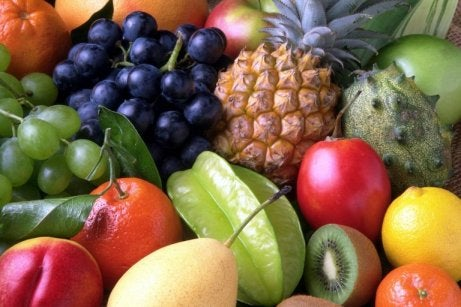 Consuming fruit and vegetables