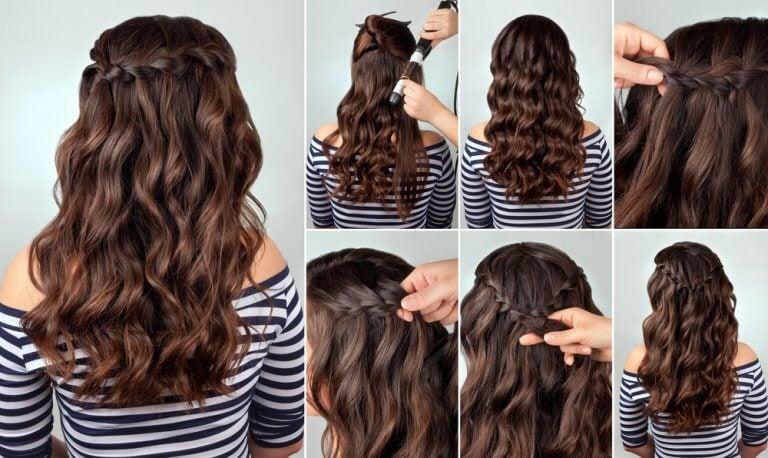 Beautiful simple braids