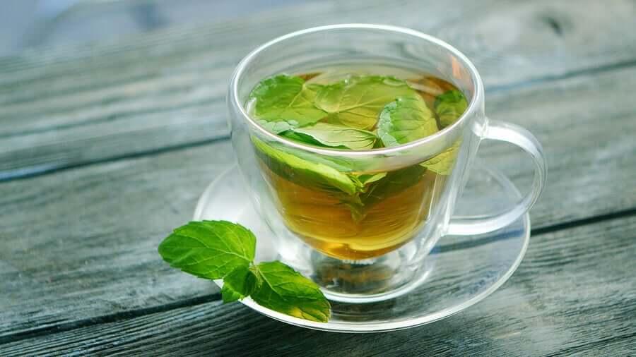 Mint teas.