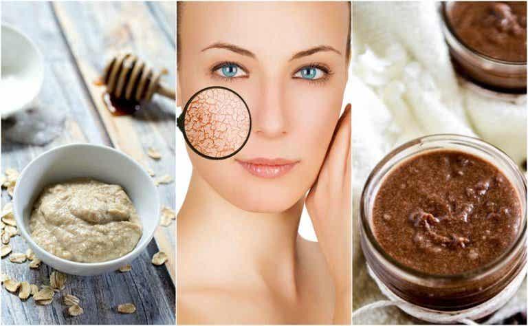 How to make moisturizing masks for dry skin