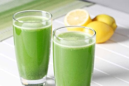 Parsley lemon juice remedy for anemia.
