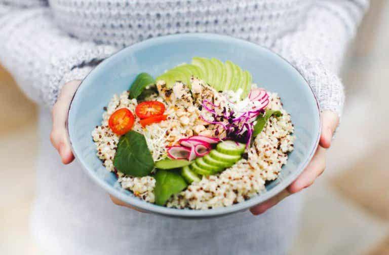 Three Delicious Salads with Quinoa