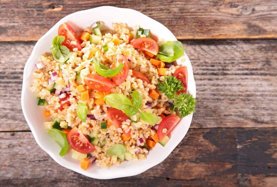 salads using quinoa