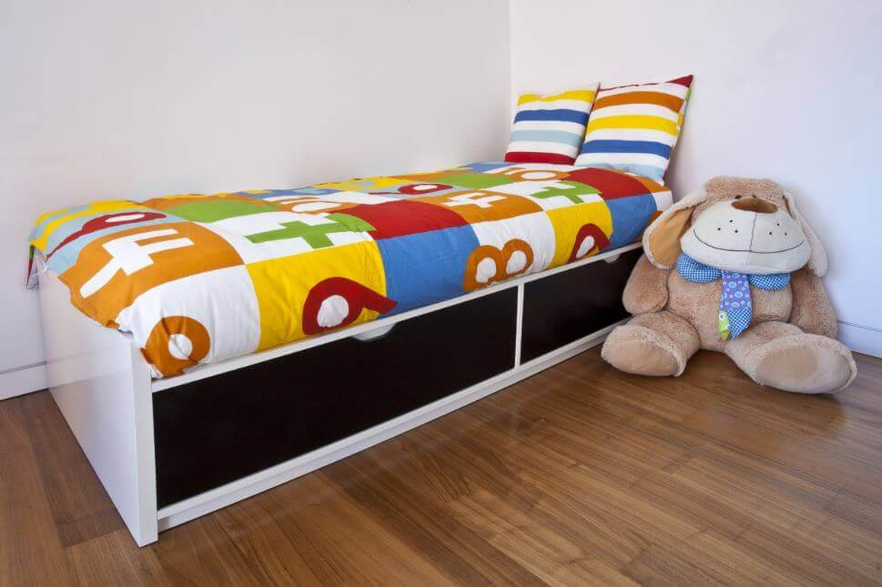 Storage beds for kids.