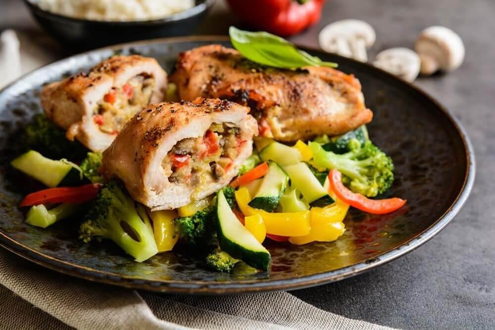 stuffed chicken breast