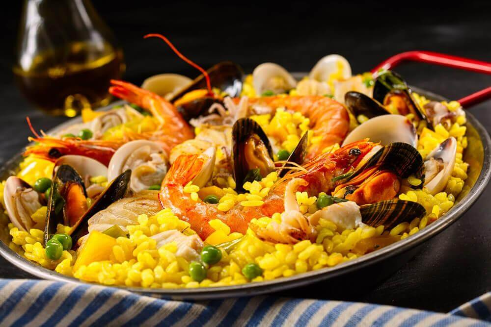 Surf and Turf Paella