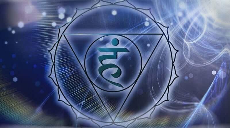 The vishuddha chakra.