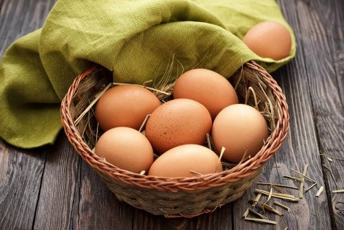 Ketogenic diet with eggs to lose weight