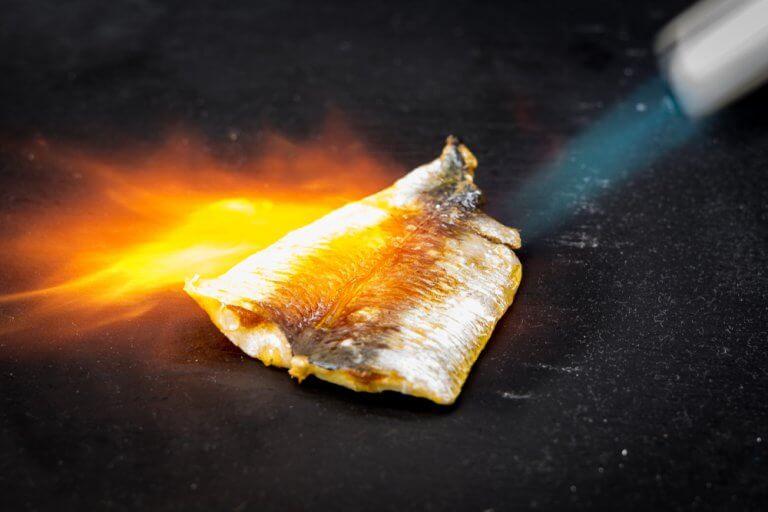 Torching fish