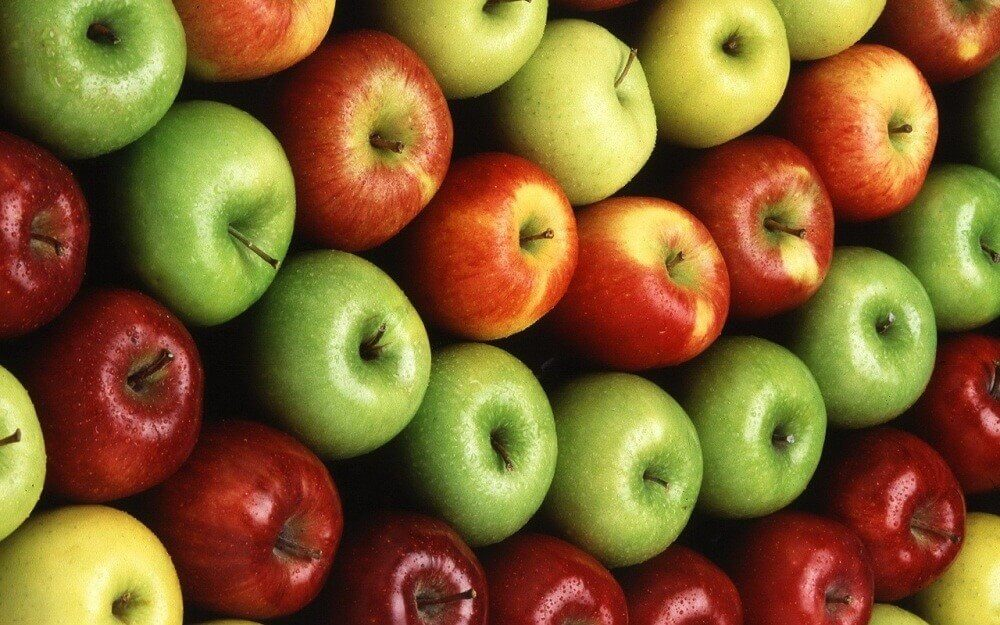 Some apples for the apple diet.