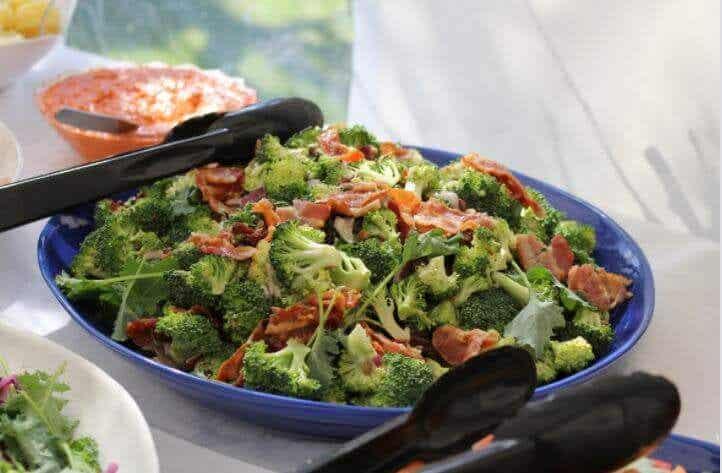 Baked Broccoli and Ham Casserole, an Easy Homemade Recipe