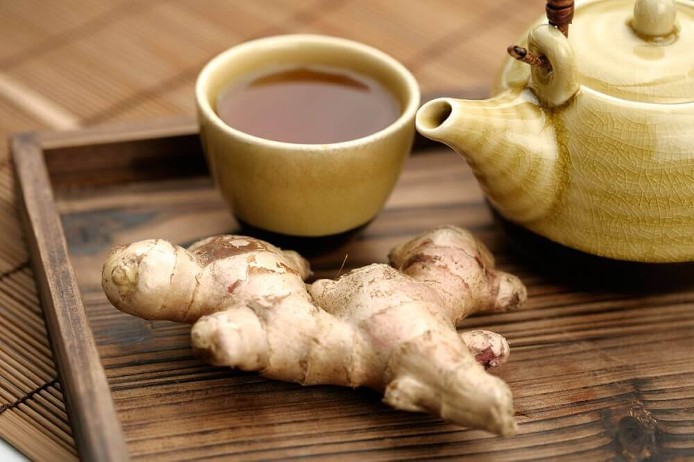 Ginger as vertigo treatment