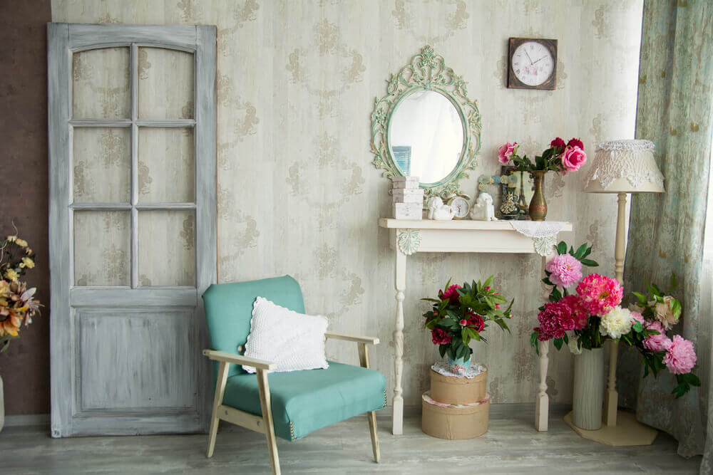 Decorating with Recycled Vintage Furniture